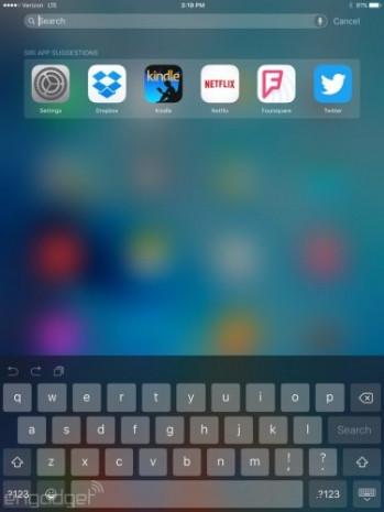 iOS 9 iPad ekran görüntüleri - Page 2