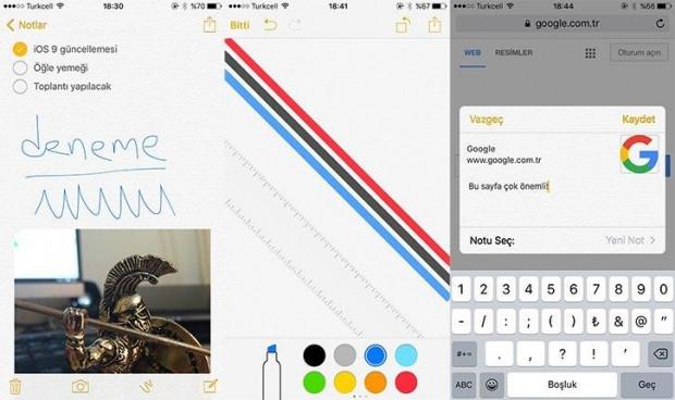 iOS 9'da olup iOS 8'de olmayanlar - Page 4