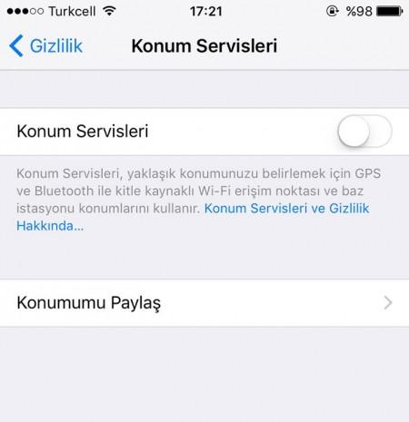 iOS 9'da pil ömrünüzü nasıl arttırabilirsiniz - Page 2