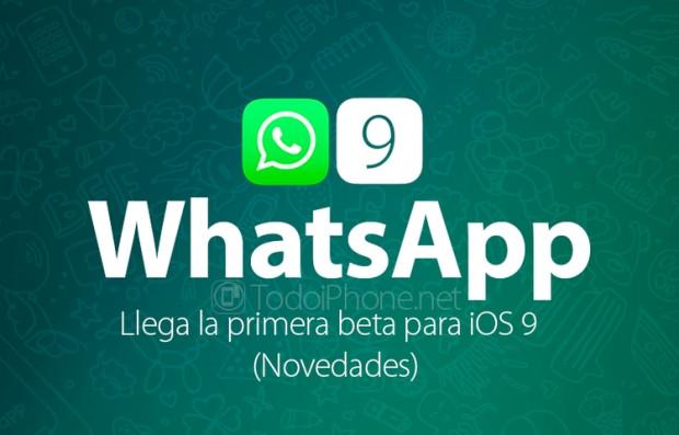 iOS9 ile birlikte Whatsapp'a yeni özellikler geldi - Page 2