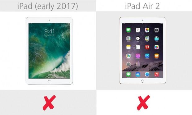 iPad (2017) ve iPad Air 2 karşılaştırma - Page 1