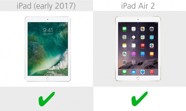 iPad (2017) ve iPad Air 2 karşılaştırma - Page 4