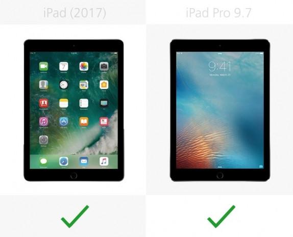 iPad (2017) ve iPad Pro 9.7 karşılaştırma - Page 3