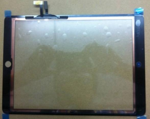 iPad 5'in olası ön paneli göründü - Page 1