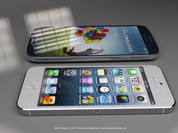 Işte iphone 5s ile galaxy s4'ün karşılaştırması