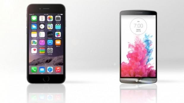 iPhone 6 Plus ve LG G3 görsel karşılaştırma - Page 1