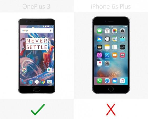 iPhone 6s Artı ve OnePlus 3 karşılaştırma - Page 1
