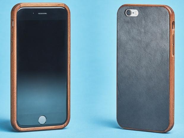 iPhone 7 için el yapımı ahşap ve deri kılıflar - Page 2