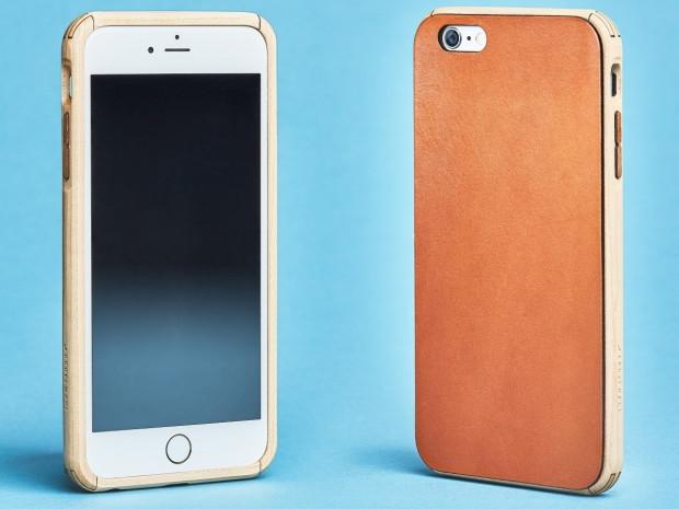 iPhone 7 için el yapımı ahşap ve deri kılıflar - Page 3
