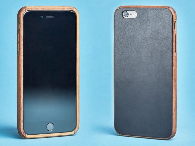 iPhone 7 için el yapımı ahşap ve deri kılıflar - Page 4