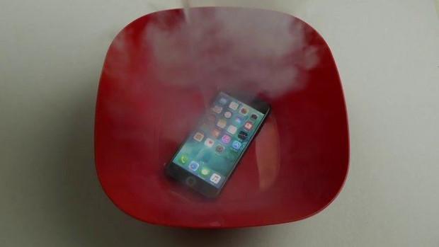 iPhone 7 sıvı nitrojenin içine atıldı! - Page 2