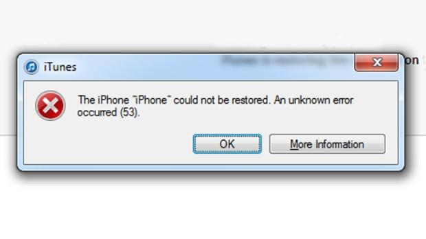 iPhone kullanıcılarını çaresiz bırakan Error 53 hatası - Page 1