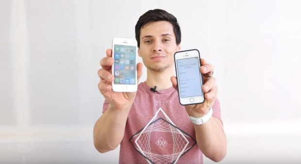 iPhone SE ve iPhone 5S düşme testi - Page 4