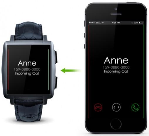 iPhone ve Android için Omate X SmartWatch geliyor! - Page 1
