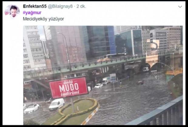 İstanbul seli sosyal medyada patladı - Page 1