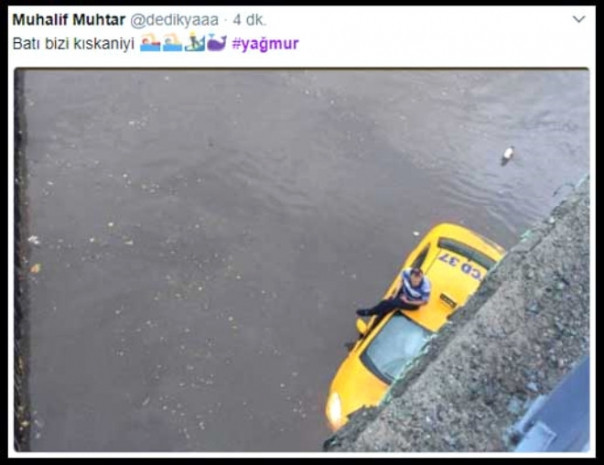İstanbul seli sosyal medyada patladı - Page 2