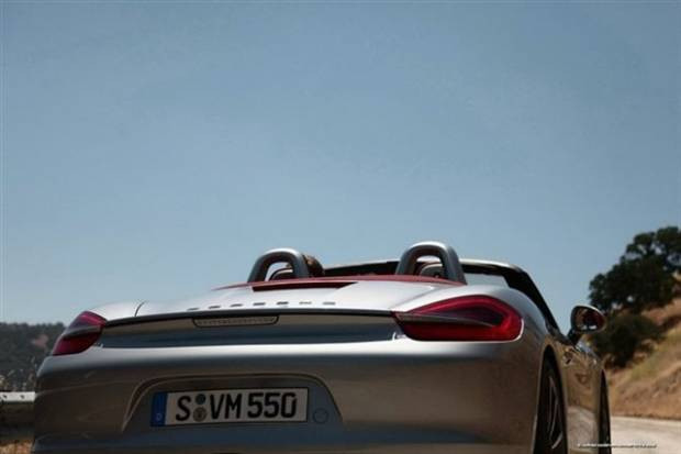 İşte 2013 Porsche Boxster !