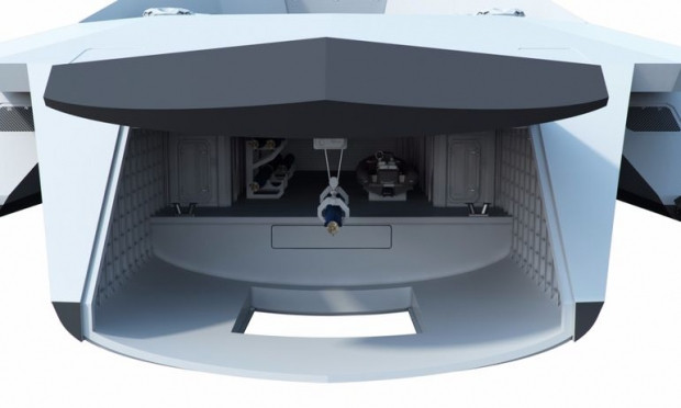 İşte 2050 yılının savaş gemisi! - Page 4