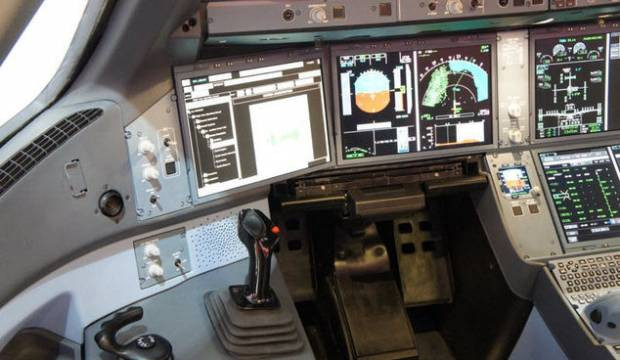 İşte Airbus A350 Kokpit turu - Page 1
