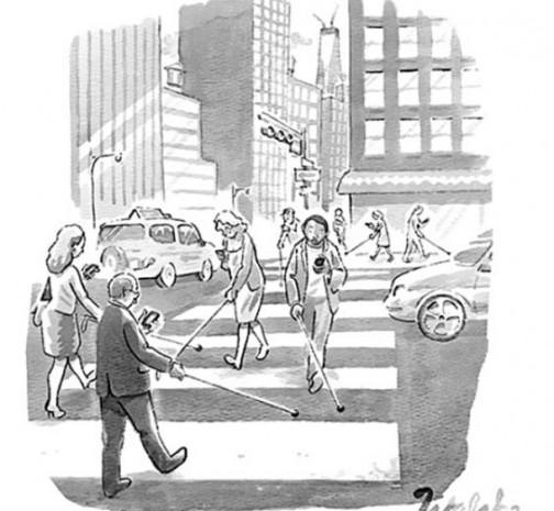 İşte akıllı telefon çılgınlığını gözler önüne seren o karikatürler - Page 2