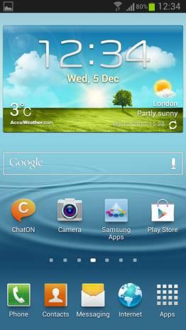 İşte Android 4.1.2 ile çalışan Galaxy S3 ekranı - Page 2