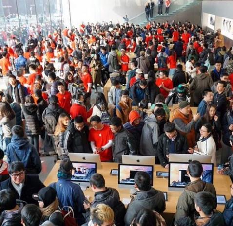 İşte Apple'ın Asya'daki en büyük mağazası - Page 3