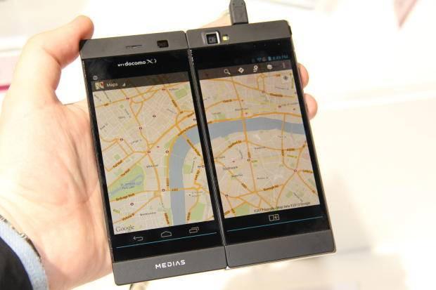 İşte çift ekranlı akıllı telefon: NEC Medias W - Page 3