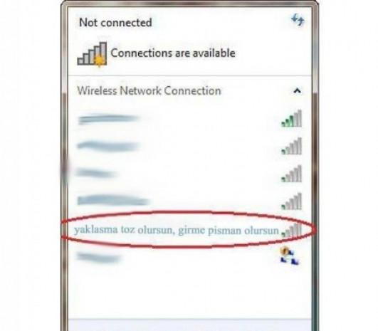 İşte en komik wifi isimleri - Page 1
