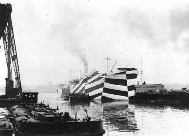İşte en şaşırtıcı kamuflaj gemi örnekleri - Page 3