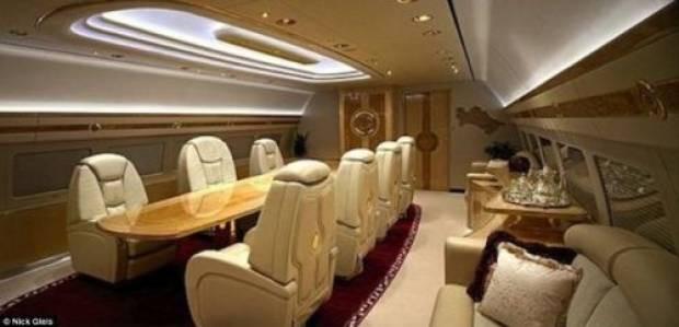 İşte en zenginlerin uçakları - Page 4