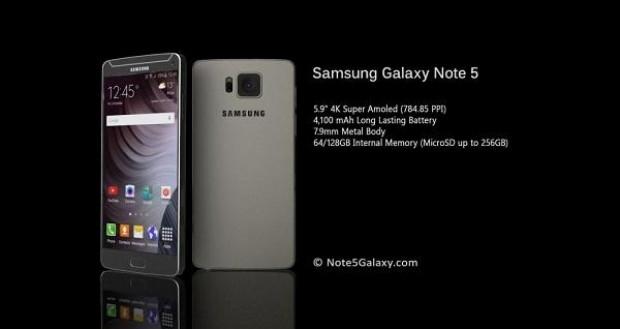 İşte Galaxy Note 5 ve özellikleri - Page 1