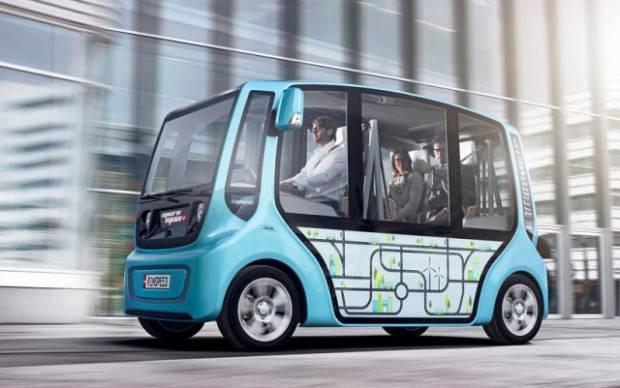 İşte geleceğin minibüsleri - Page 1