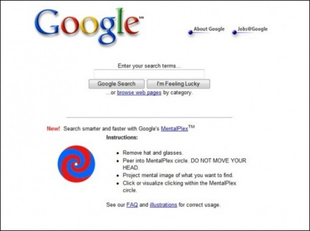 İşte Google'ın gizli şifreleri ve sürprizleri - Page 1