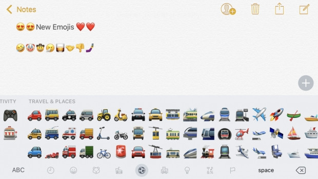 iOS 10.2 ile gelen yeni emojiler - Page 1