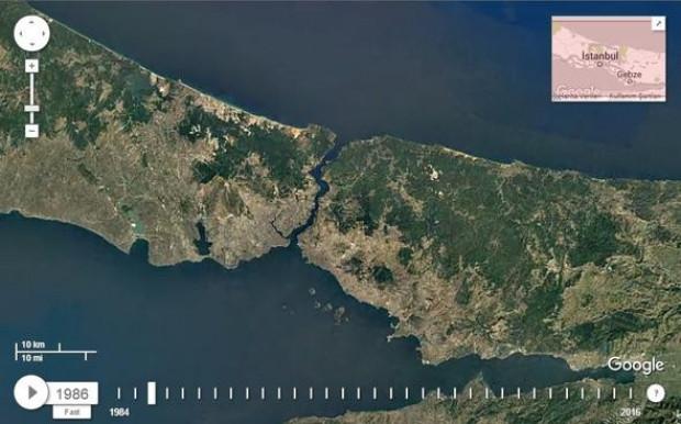 İşte İstanbul'un 32 yıllık büyük değişimi - Page 1
