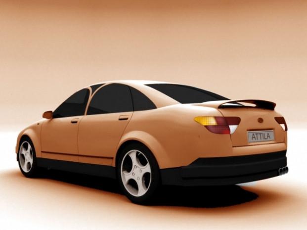 İşte Kazakistan'ın ilk otomobili Atilla! - Page 1