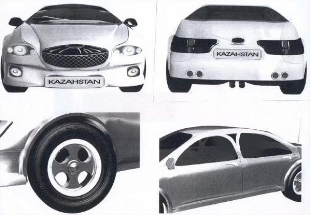 İşte Kazakistan'ın ilk otomobili Atilla! - Page 4