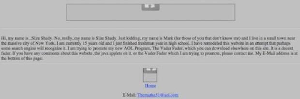 İşte Mark Zuckerberg'in çocukken açtığı site - Page 3
