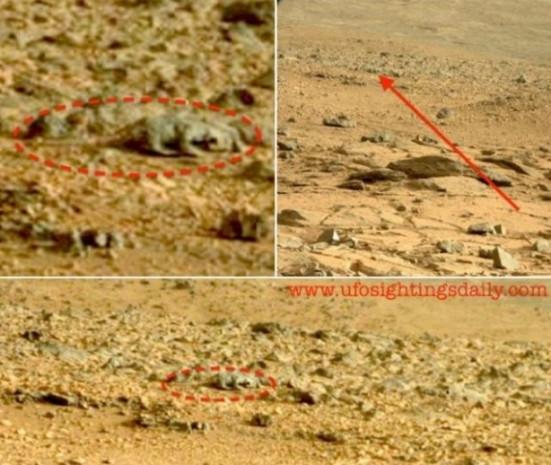 İşte Mars'tan kafanızı karıştıracak kareler - Page 3