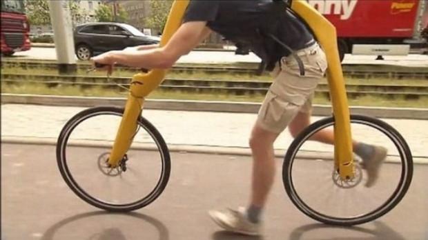 İşte pedalsız taş devri bisikleti - Page 1