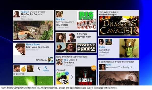 İşte Playstation 4'ün arayüz fotoğrafları - Page 1