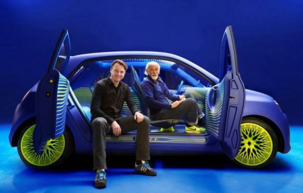 İşte Renault'un sıradışı otomobili Twin'Z - Page 1