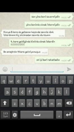 Gülme krizine sokacak WhatsApp konuşmaları - Page 1