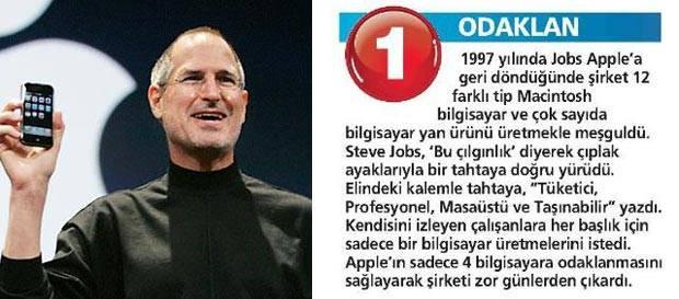 İşte Steve Jobs'un liderlik sırları - Page 1