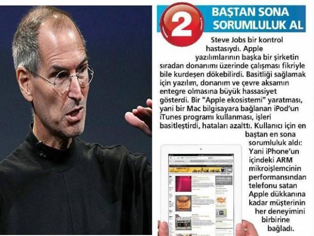 İşte Steve Jobs'un liderlik sırları - Page 2