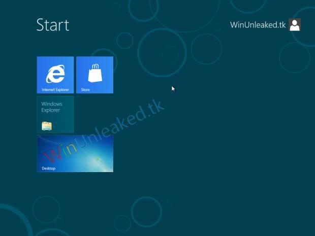 İşte Windows 8 Pro'dan ilk görüntüler! -GALERİ - Page 2