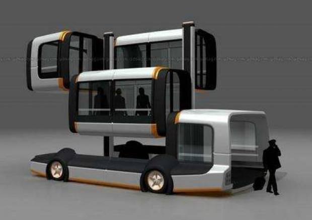 İşte yeni otobüs tasarımları - Page 1
