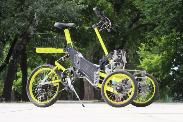İster 3 ister 4 tekerlikli bisiklet EV4 E- - Page 1
