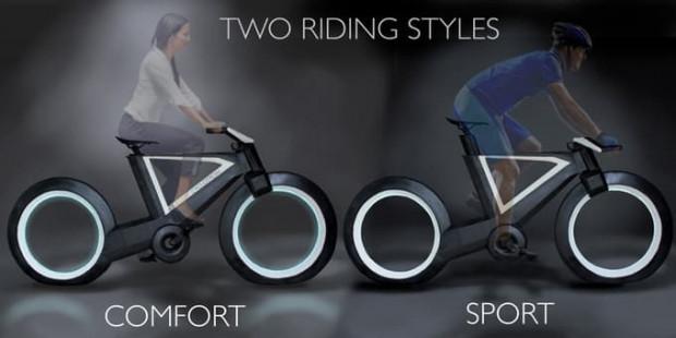 Jantlarıyla dikkat çeken fütüristik bisiklet Cyclotron Tron - Page 4