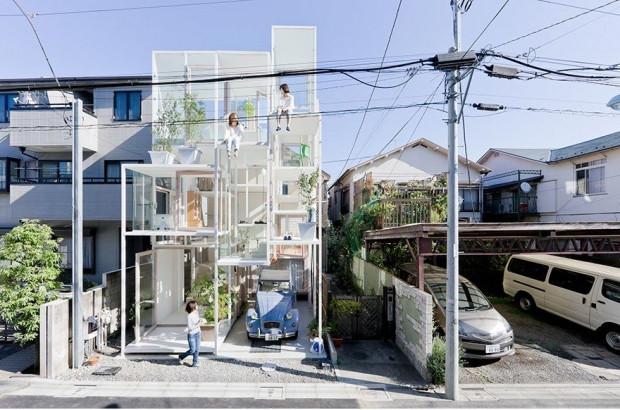 Japon modern mimarinin sıradışı örnekleri - Page 1